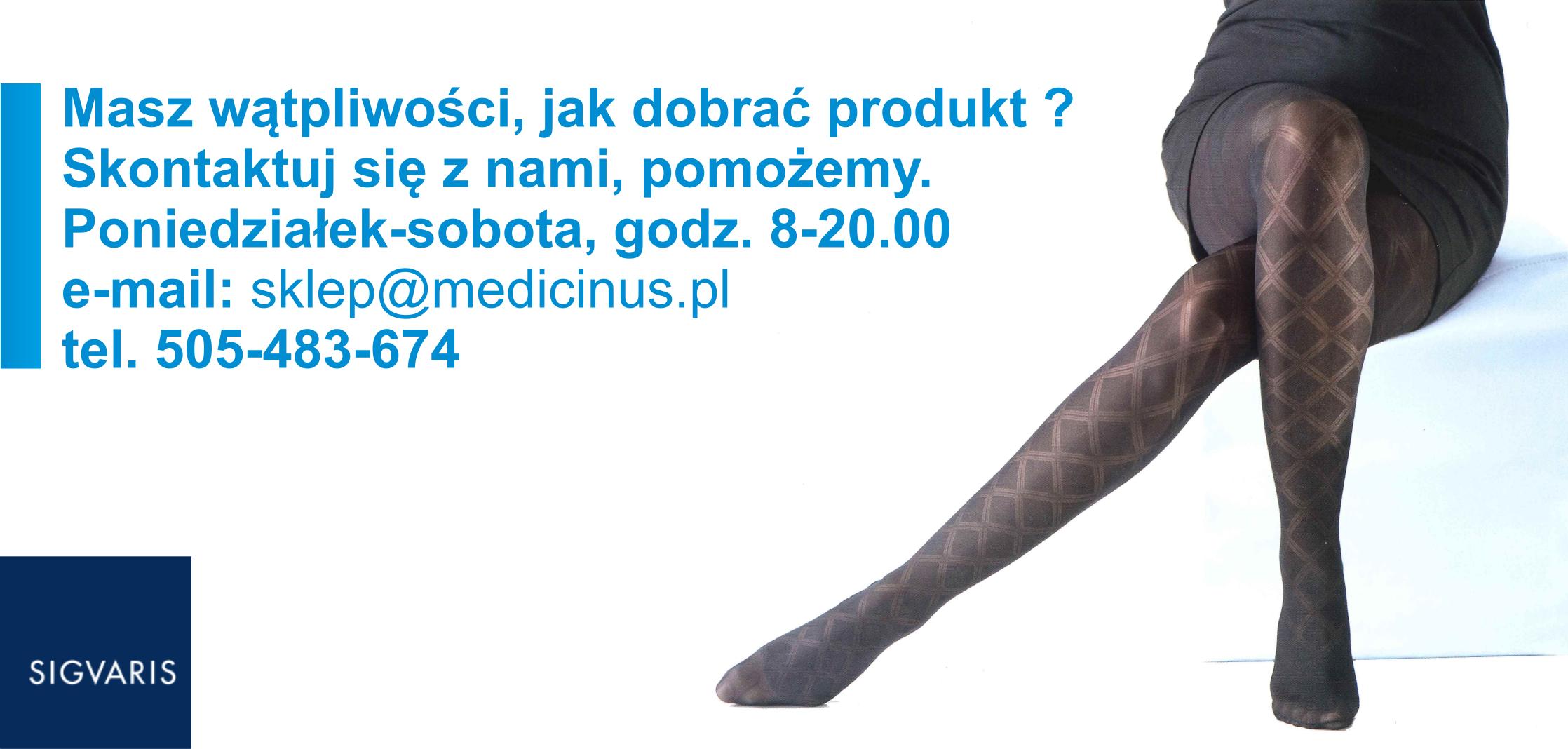ac42d236efe2e7 Podkolanówki, pończochy i rajstopy uciskowe - Medicinus